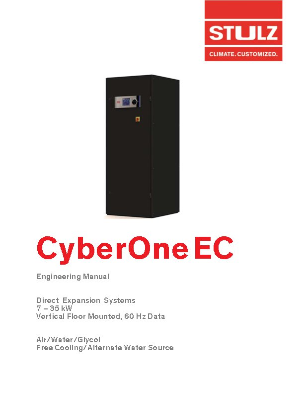 CyberOne Compact Solution for Data Center Cooling | STULZ USA