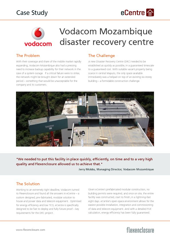 case study vodacom Vodafone and dhl are working together to help to crack these critical issues in the process they are creating unprecedented new opportunities for business in africa.