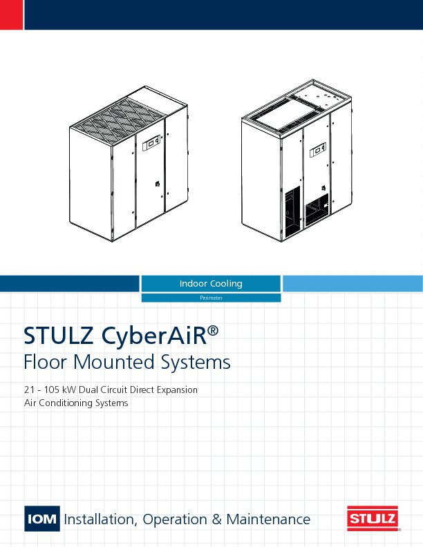 Dx A C Systems : Cyberair crac crah data center cooling stulz usa