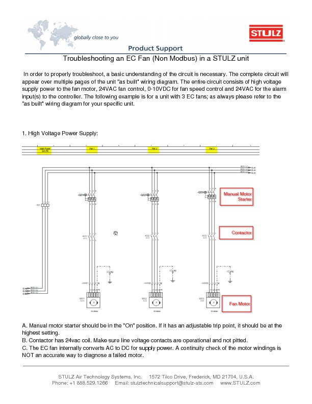 Stulz Air Conditioning Wiring Diagram Wiring Diagram