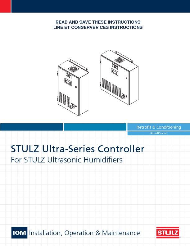 Ultrasonic Humidification STULZ USA